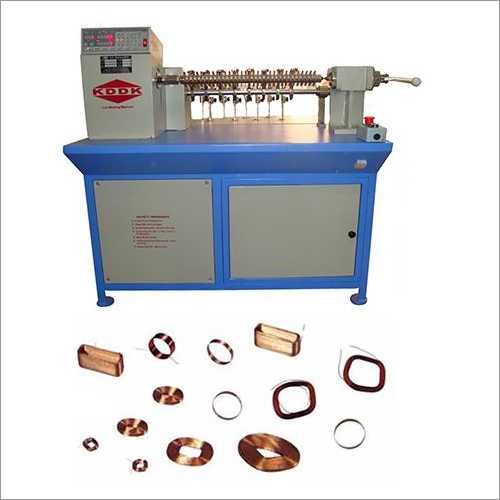 Auto Matic Coil Winding Machine