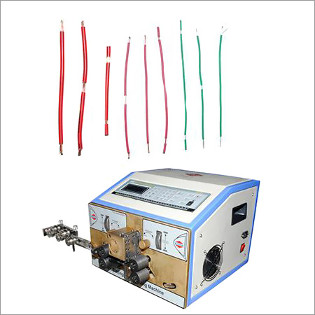 CNC PVC Wire Cutting & Stripping Machine