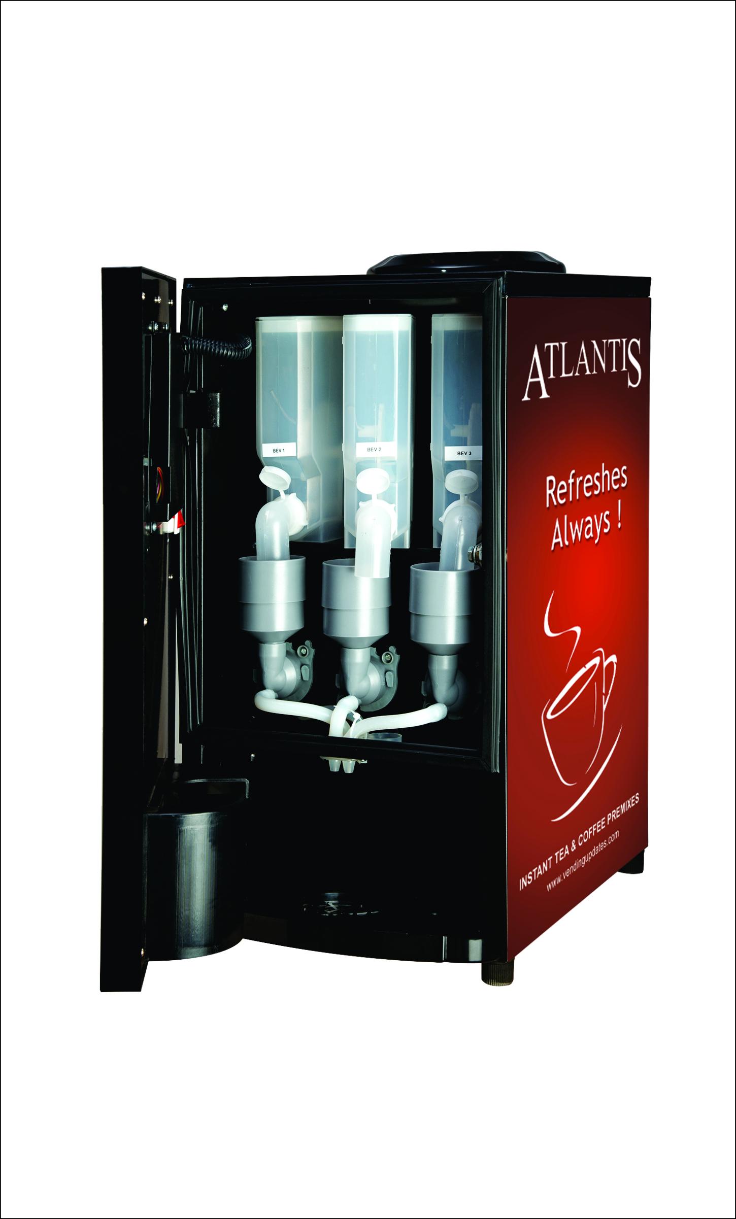 Cafe Mini 2 Lane Tea and Coffee Vending Machine