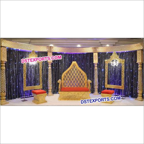 Royal Wedding Reception Stage Furniture