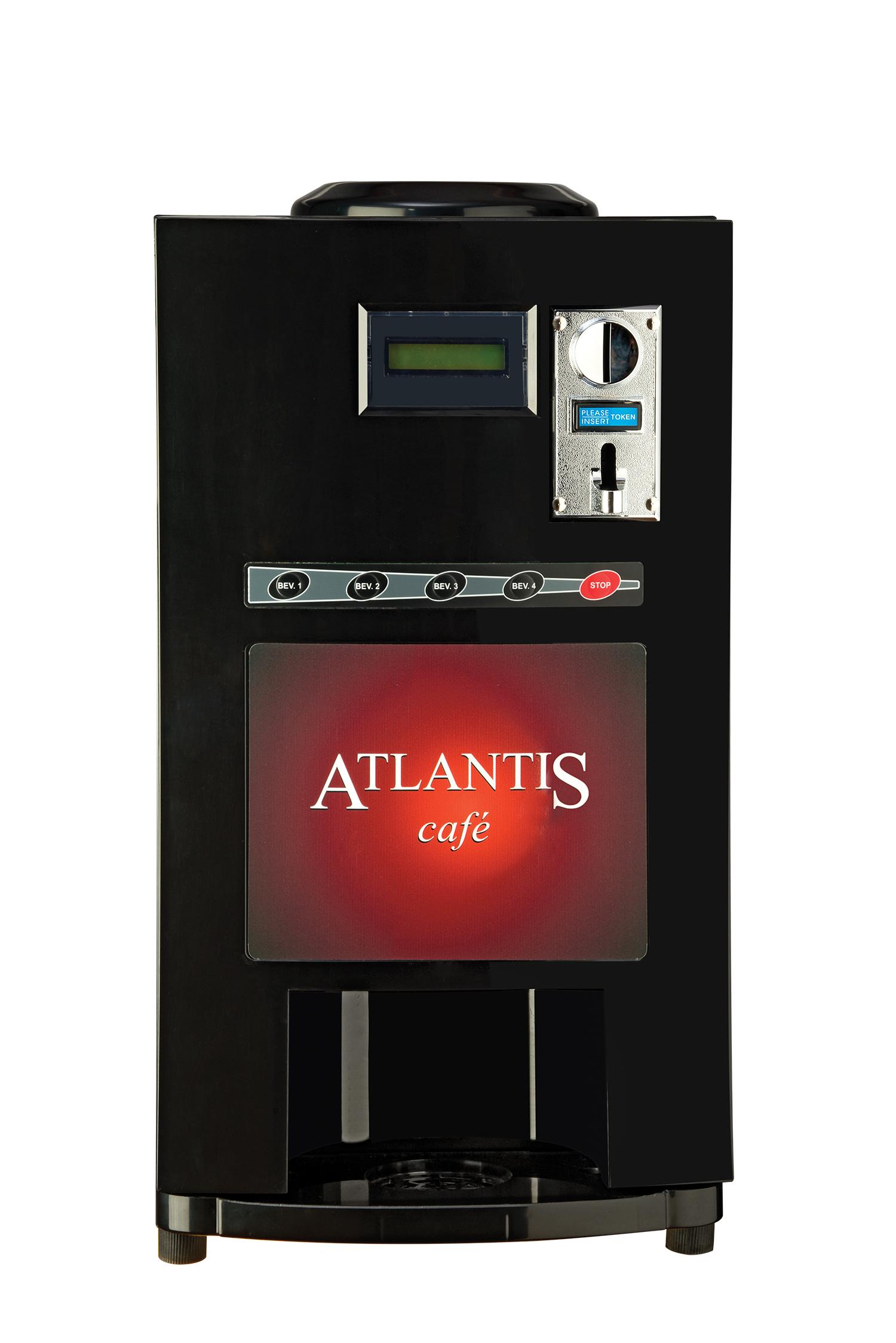 Cafe Plus 4 Lane Hot Beverage Vending Machine