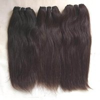 Raw Cuticle aligned Natural Temple Straight Hair