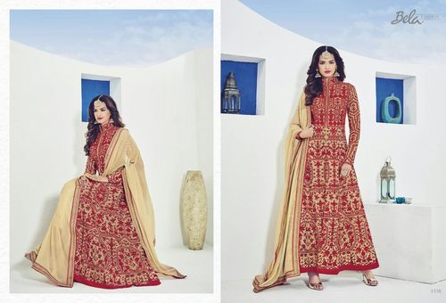 Long Ethnic Designer Suit