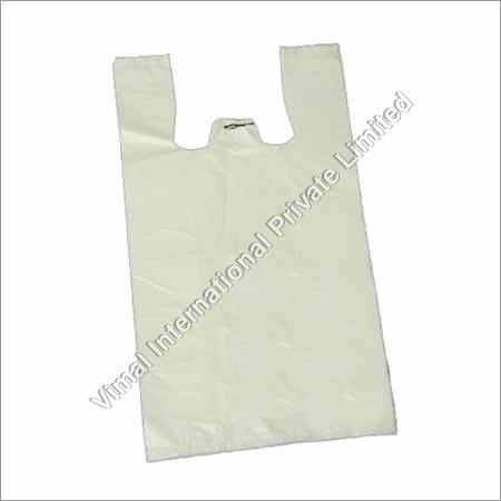 W Cut Plastic Bags
