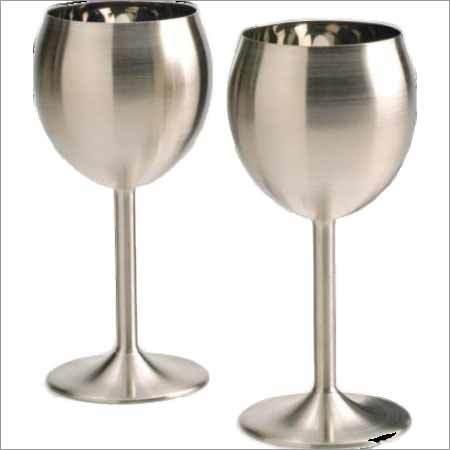 Steel Champagne Glass