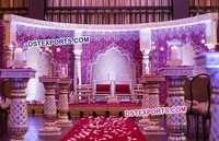 Fantastic Wedding Fiber Mandap