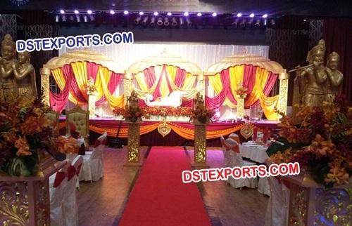 Hindu Wedding Radha Krishan Stage