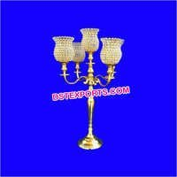 Wedding Gold Lamp Crystal Center Pieces