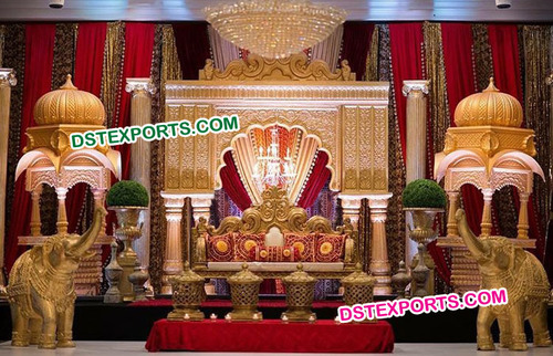 Arabic Traditional Indian Wedding Stages