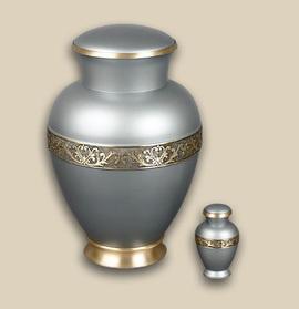 Castle Brass Cremation Urn