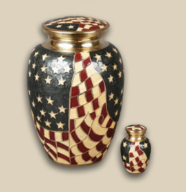 Old Glory Flag Urn