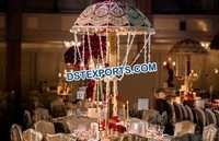 Wedding Table Decoration Embroidered Umbrella