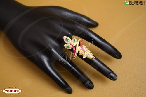flower design Finger Ring