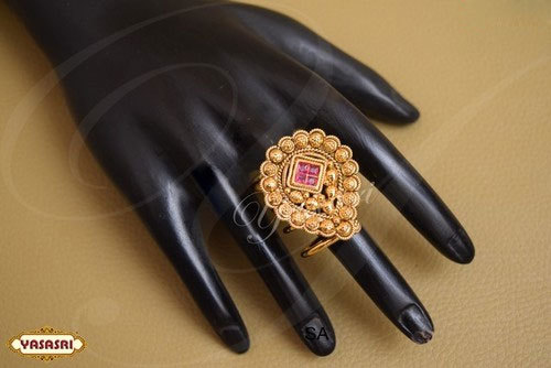 Traditional Ladies Finger Ring