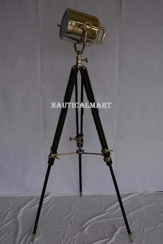 Nautical Decorative Search Light Tripod Floor Lamp Home Decor