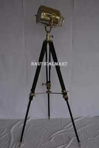 Nautical Decorative Search Light Tripod Floor Lamp Home Decor