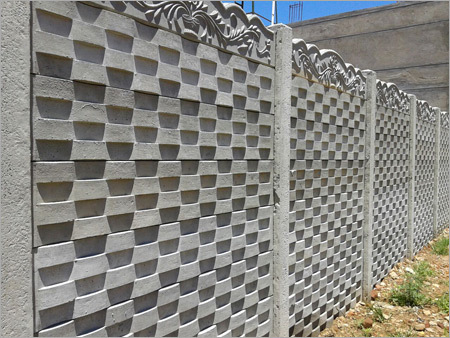 Commercial Compound Wall