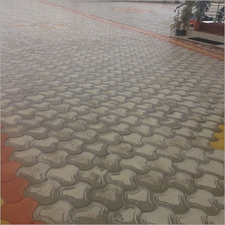 Concrete Paver Block Floor