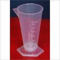 Clear Plastic Measuring Glass