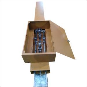 加套管道系统的短管轴