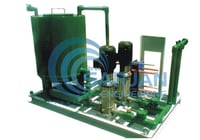 Hydraulic Pump Stand Assembly