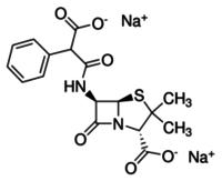 Carbenicillin sodium