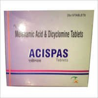 Mefenamic Acid And Dicyclomine Tablets