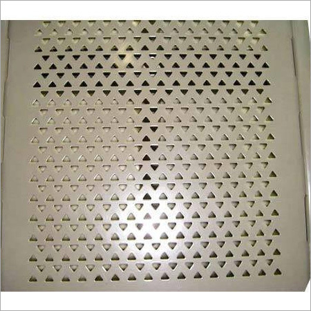 Triangle Hole Perforated Sheet