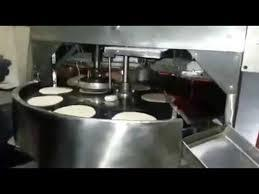 Used Semi automatic Roti maker