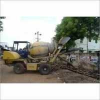 Self Loading Concrete Mixer Machine On Rent