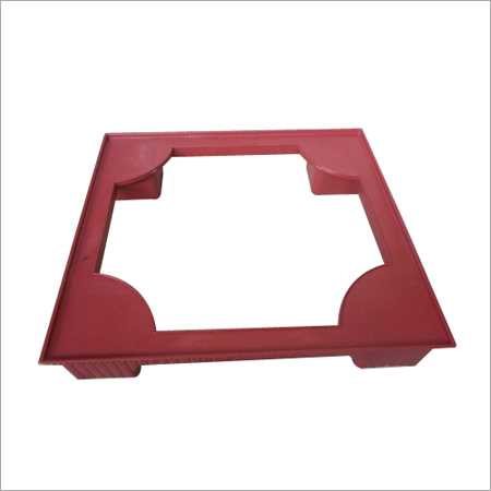 Plastic Refrigerator Stand (square)