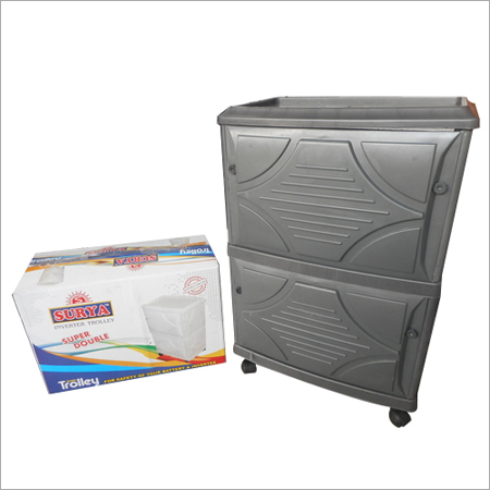 Plastic Home Inverter Trolley