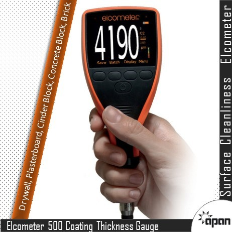 Elcometer 500 Concrete Coating Thickness Gauge