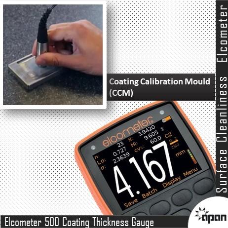 Elcometer 500 Concrete Coating Thickness Gauge