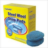Heavy Duty Steel Wool Soap Pads