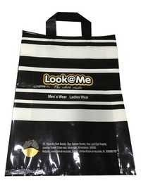 Laminated Loop Handle Shopping Bags