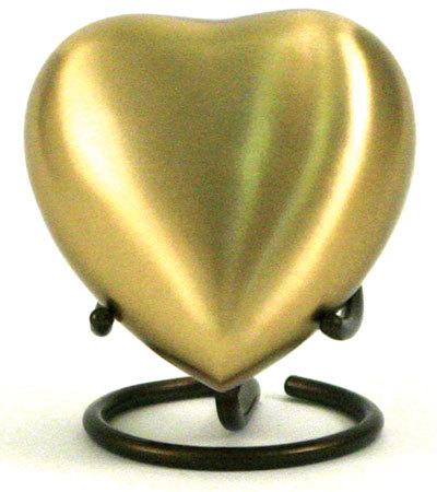 Classic Gold Keepsake Urn