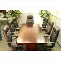 Mahogany Wood Conference Table