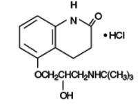 Carteolol hydrochloride - reference spectrum