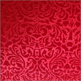 Stripe velvet fabric