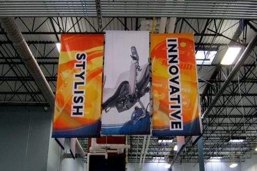 Indoor Hanging Banner