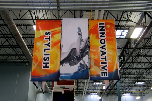 Indoor Hanging Banner