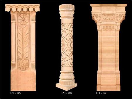 Natural Stone Columns