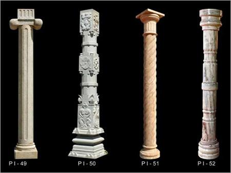 Natural Stone Pillar