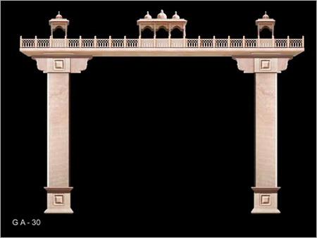 Stone Arch Gates