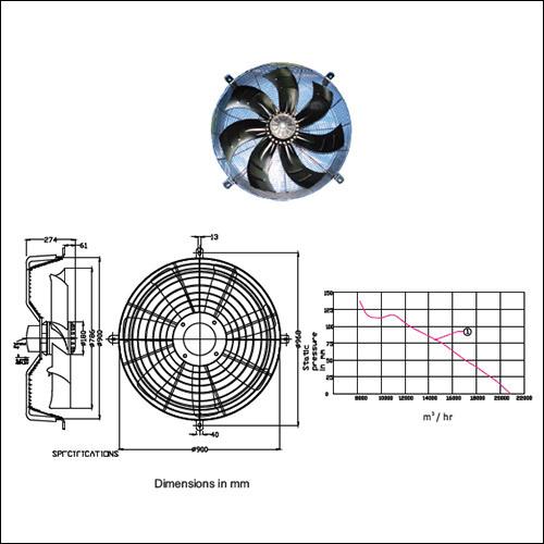 Axial Fan SM AF-800