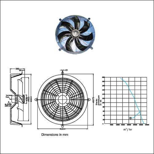 SM AF-900 Axial Fan