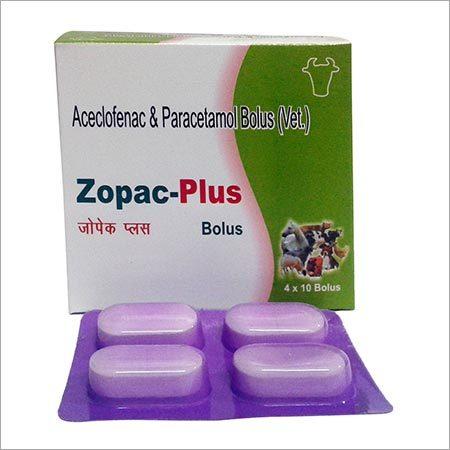 Zopac Plus Aceclofenac & Paracetamol Bolus