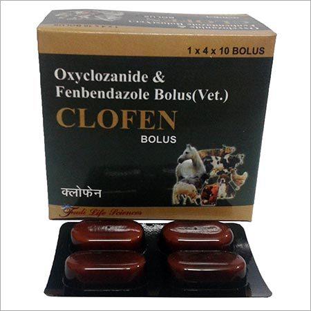 Clofen Oxyclozanide Fenbendazole Bolus