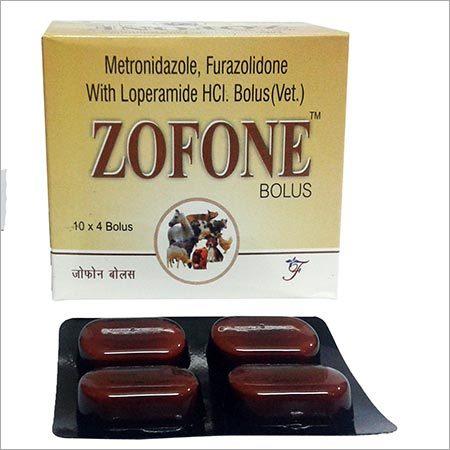 Zofone Metronidazole Furazolidone with Loperamide HCI Bolus